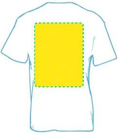 Camiseta personaliza espalda